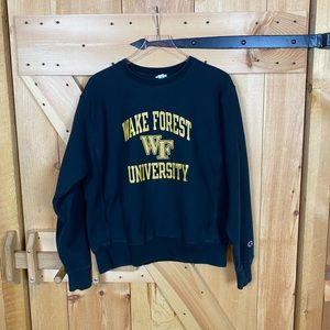 champion | wake forest university crewneck sweats
